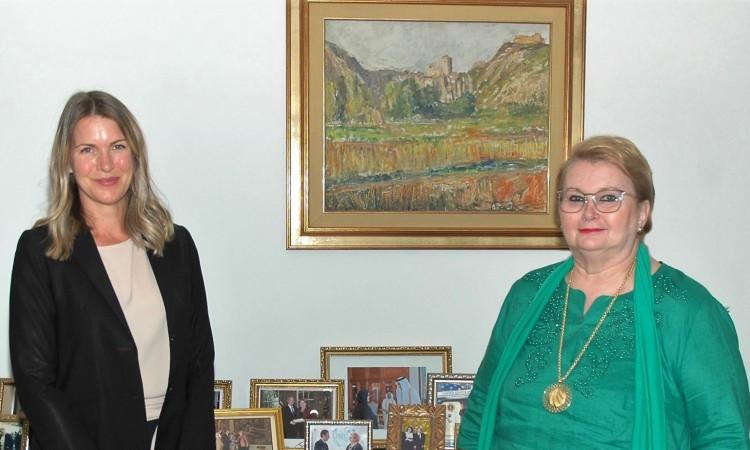Turković primila u nastupnu posjetu ambasadoricu Kraljevine Švedske u BiH