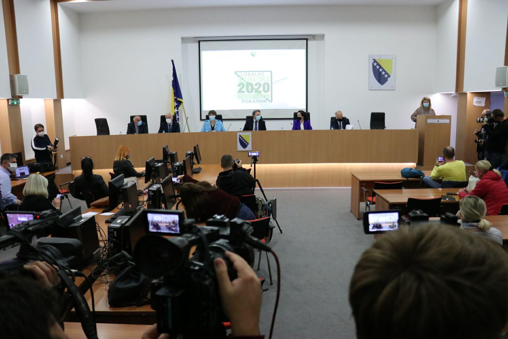 CIK BiH - Predizborna kampanja za lokalne izbore počinje zvanično od sutra