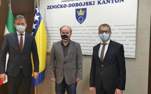 Premijer i ministar obrazovanja ZDK primili direktora BH Telecoma Zenica