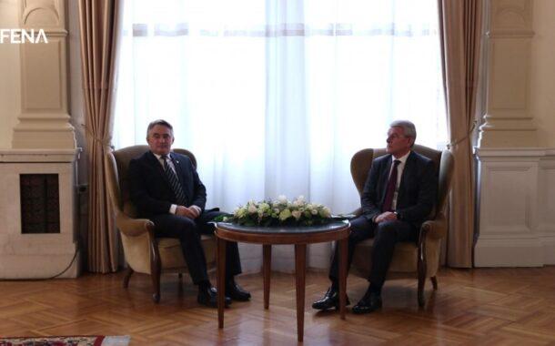 Komšić i Džaferović: Trebamo se okrenuti pozitivnim procesima (VIDEO)