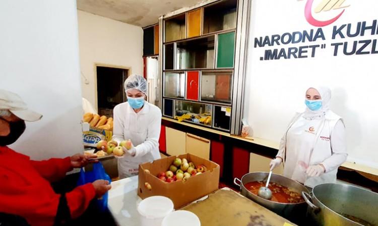 BH Telecom donirao Merhametu 18 hiljada KM za javne kuhinje