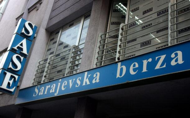 Izvještaj sa Sarajevske berze